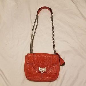 Rebecca Minkoff leather bag.